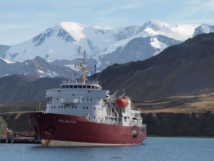 M/V Polar Star, Grytviken, South Georgia Island