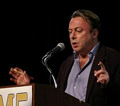 Christopher Hitchens Lecturing, via Wikipedia
