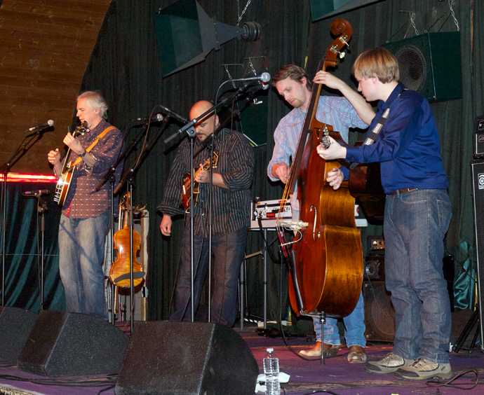 Acoustic Adventures brings Frank Solivan and Dirty Kitchen at The Blue Loon