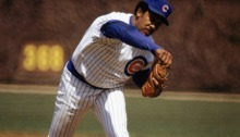 Fergie Jenkins of the Chicago Cubs pitches in a game at Wrigley Field in Chicago, Illinois. (Photo by: Jonathan Daniel/Getty Images)