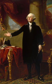 George Washington, by Gilbert Stuart, 1796