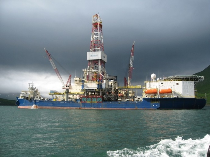 Shell Drilling Rig Discoverer (Photo by Shell)