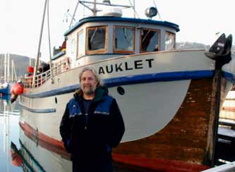 David Janka and Auklet, Photo by Susie Teerlink