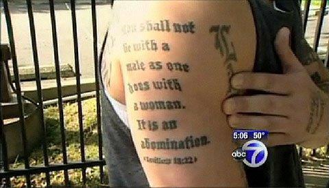 Leviticus, Homosexuality and Tattoos