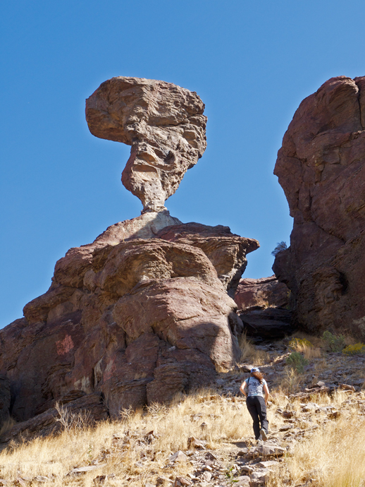 Balanced Rock, Seen from the Road