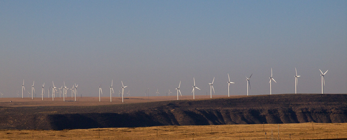 Wind Farm in Southcentral Idaho