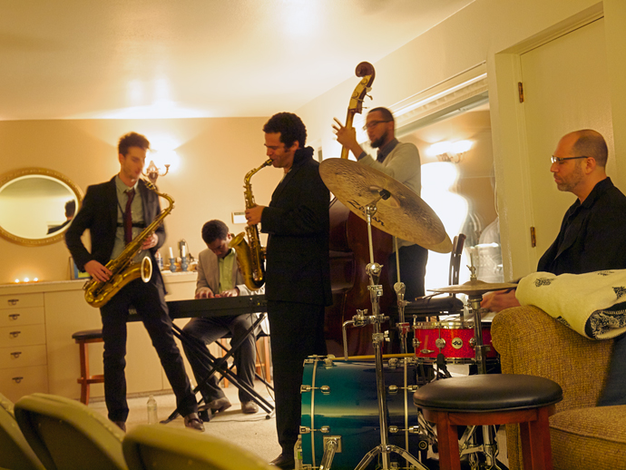 The Metta Quintet in the Chancellor's Living Room