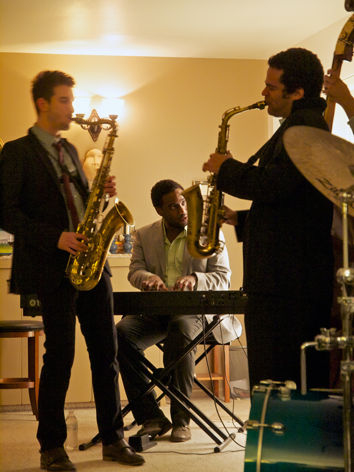 Saxophone Improv by The Metta Quintet