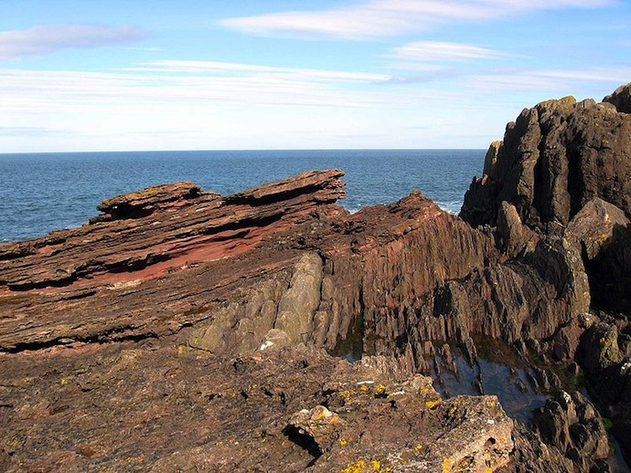 Siccar Point, Scotland