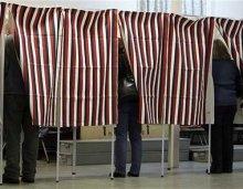 Alaska Voting Booths