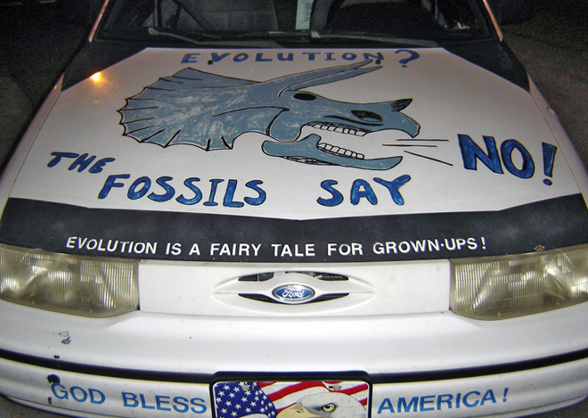 Creationist Car, by Amy Watts