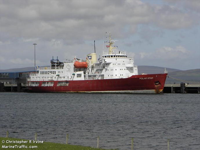 Polar Star Back in the Water, photo © Christopher R. Irvine