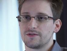 Edward Snowden, photo by AP