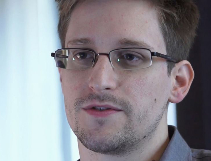 Edward Snowden, photo by AP