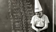 Someone Gets the Dunce Cap