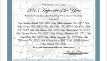 Wickersham's Conscience 2013 Hypocrite of the Year - Suitable for Framing