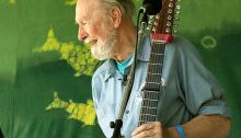 Pete Seeger, 2007, photo by Anthony Pepitone
