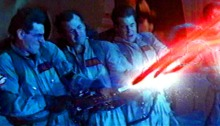 """""""Don't cross the beams,"""" Ghostbusters"""