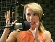 Except this is radio, Ms. Ingraham...