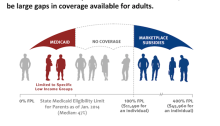 Medicaid and the Health Insurance Gap