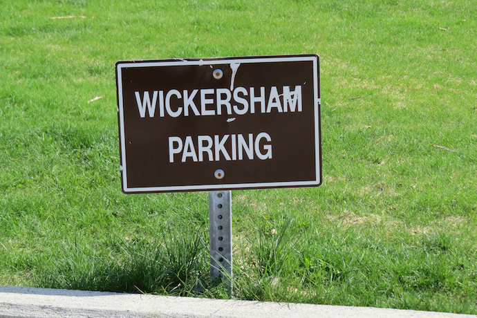 Wickersham House Parking, Juneau, Alaska, photo by Mrs. WC