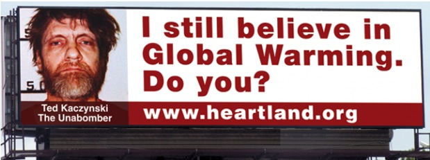 Heartland Institute's Billboard, Eisenhower Expressway, Chicago, IL