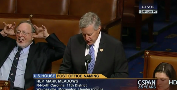 Congressman Young Demonstrating It's Time to Retire