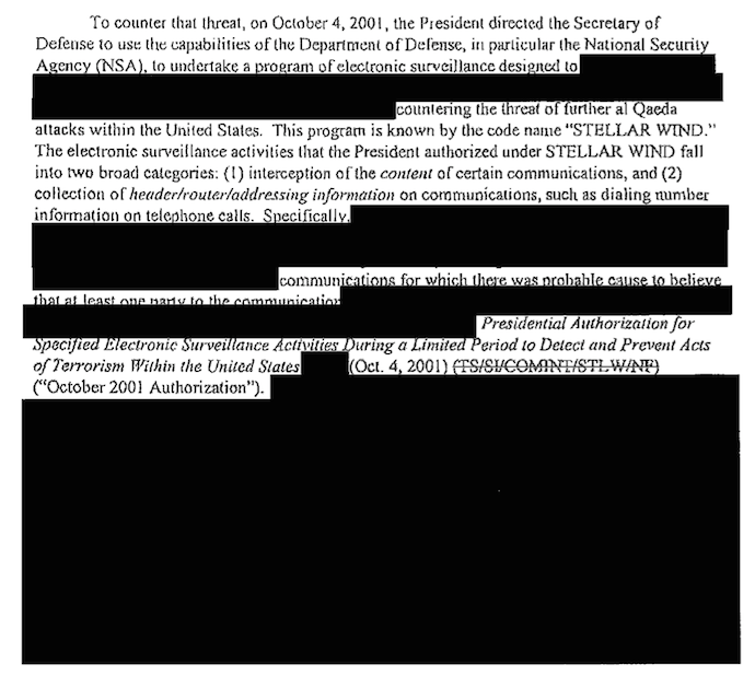 Memorandum to the Attorney General, May 6, 2004, Page 7