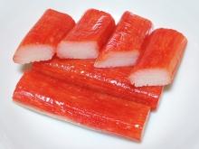 Imitation Crab Meat Made from Surimi, Photo Via Wikicommons