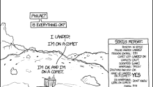 Randall Munroe's Live-Sketched Report on Philae's Landing - Final Panel