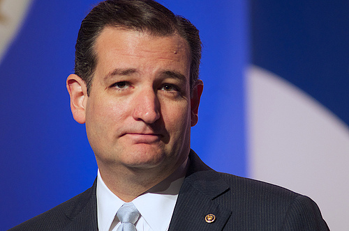 Hypocrite of Ignoramus: Sen Ted Cruz (R, Texas)
