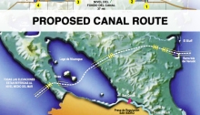 Proposed Route of Nicaraguan Canal