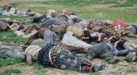 Gas victims, Halabja, Iran, March 16, 1988