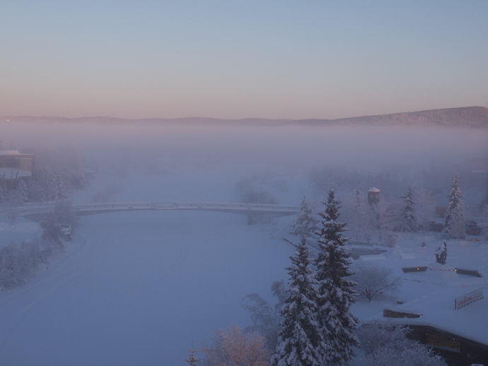 Winter, Looking Northeast