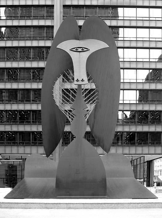 The Chicago Picasso, Daley Plaza, Chicago, Illinois