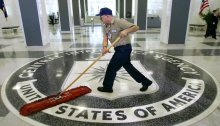 CIA Sweeping the Facts Under the Rug - Photo credit AP