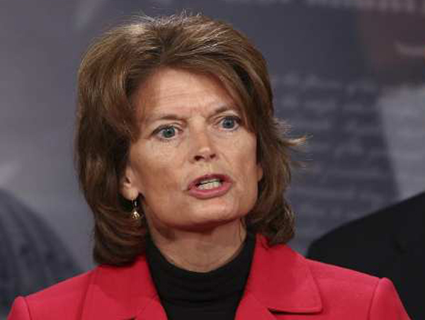 Senator Lisa Murkowski, Climate Change Denier  (Photo by Win McNamee/Getty Images)