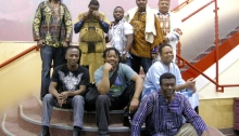 African Guitar Summit, Fort St. Joh, B.C., photographer unknown