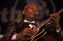 B.B. King at the North Sea Jazz Festival in Rotterdam, 2009