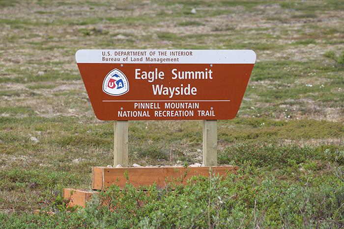 Eagle Summit Pinnell Mountain Trailhead Wayside