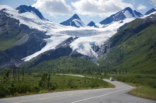 Worthington Glacier, 2015, approximately the same point