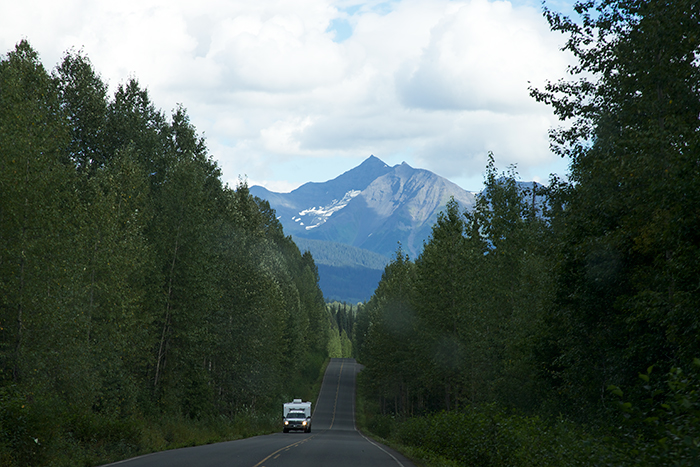 Headed south into the Cassiar Mountains