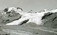 Worthington Glacier, 1930s-1940s