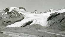 Worthington Glacier, 1930s-1940s