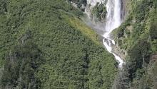 Anderson Falls, Port Valdez, Alaska
