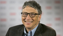 Bill Gates, via Forbes; he still needs to wash his hair more often