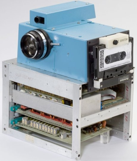 Steve Sasson's First Digital Camera, now at the Smithsonian