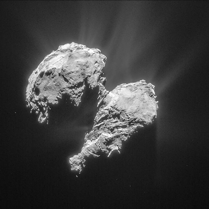 Comet 67/P from 149 miles away
