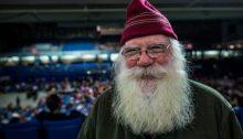 Santa Claus. Really. Photo by Loren Holmes