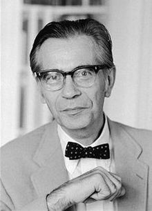 Prof. Richard Hofstatdet, c. 1970, via Wikipedia